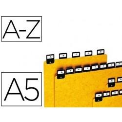 Intercalaire coutal 148x210mm pour fiches format a5...