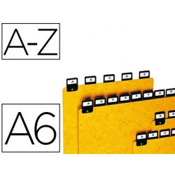 Intercalaire coutal h100x150mm pour fiches format a6...