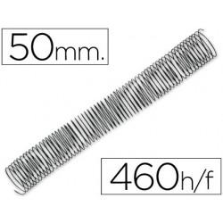 Spirale q-connect métallique relieur pas 5:1 460f calibre...
