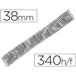 Spirale q-connect métallique relieur pas 5:1 340f calibre...
