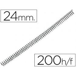 Spirale q-connect métallique relieur pas 5:1 200f calibre...