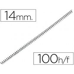 Spirale q-connect métallique relieur pas 4:1 100f calibre...