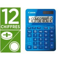 Calculatrice canon ls-123k 12 chiffres couleur bleu