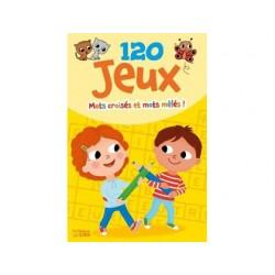 Bloc d'activités éditions lito 120 jeux mots croisés...