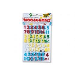 Sticker pailleté folia mousse caoutchouc formes chiffres...