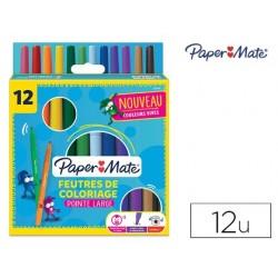 Feutre coloriage paper mate encre lavable pointe large...