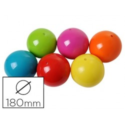Ballon plastico rototech en caoutchouc diamètre 180mm...