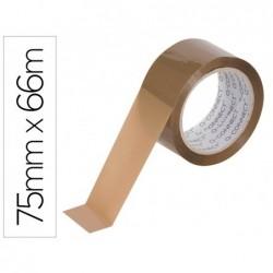 Ruban adhésif q-connect polypropylène 45 microns 66mx75mm...