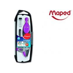 Compas maped graphic 360 degrés plastique interchangeable...