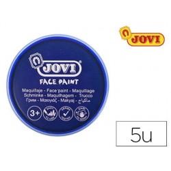 Maquillage jovi face paint en crème de 20ml couleur bleu...