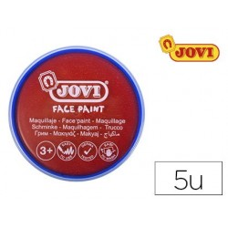 Maquillage jovi face paint en crème de 20ml couleur rouge...