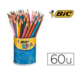 Crayon couleur bic kids eco evolution couleurs assorties...