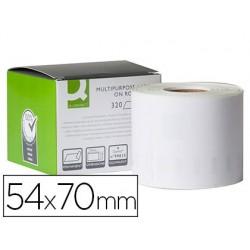 Étiquette adhésive q-connect 54x70mm compatible dymo...