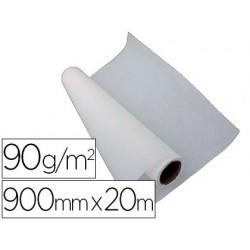 Papier calque liderpapel 90cmx20m 90g rouleau