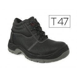 Chaussure faru sécurité cuir embout acier coloris noir...