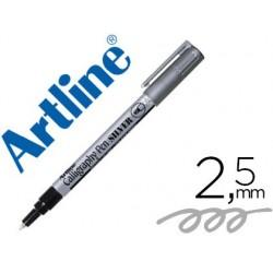 Marqueur artline permanent pointe large biseautée 2.5mm...