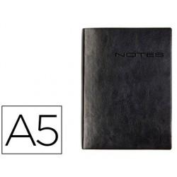 Carnet notes carpentras lecass a a5 148x210mm coloris noir