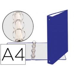 Classeur exacompta 4 anneaux 30mm a4 carte rembordée pvc...