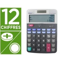 Calculatrice truly bureau ct900bl 12 chiffres