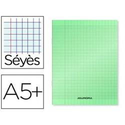 Cahier piqué liderpapel couverture plastique souple a5+...