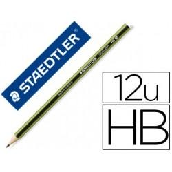 Crayon graphite staedtler noris éco hb hexagonal mine 2mm...