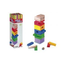 Block block culture club 2000 jeu d'équilibre en bois