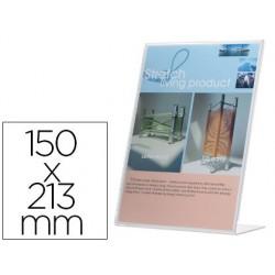 Porte-visuels q-connect 01 plexiglas format a5 chargement...