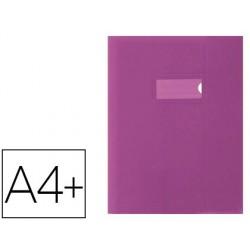 Protège-cahier elba school life 24x32cm opaque coloris...