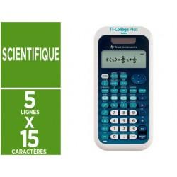 Calculatrice texas instruments scientifique ti-collège...