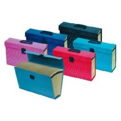 Valisette trieur oxford carton compact 390x255x110mm 16...